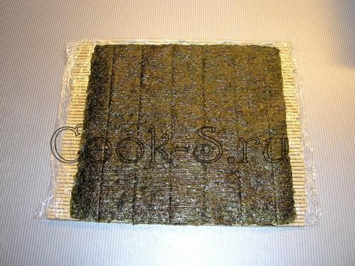 роллы - водоросли нори