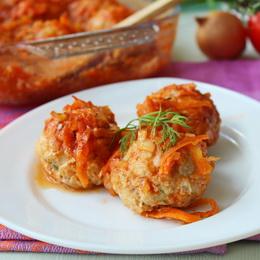 Рыбные тефтели в томатном соусе рецепт с фото