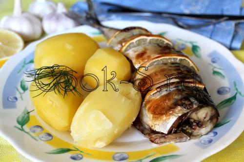 Скумбрия с лимоном рецепт