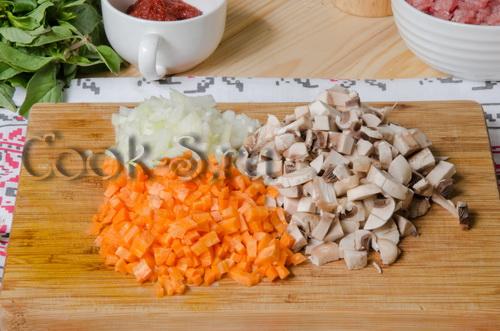 лук морковь грибы