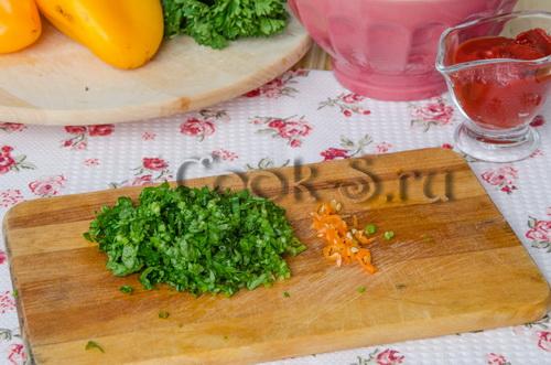 Рецепт фаршированных перцев, приготовленных в мультиварке
