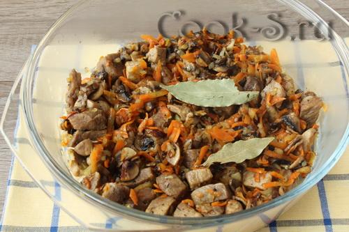 Гречка с мясом и грибами - Пошаговый рецепт с фото, Разное
