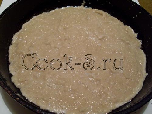 картофельная бабка с мясом - тесто