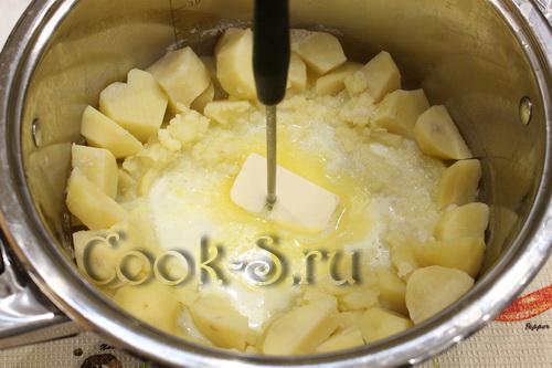 Картофельное пюре блендером погружным видео
