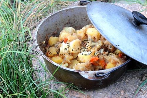 Блюда для приготовления в казане на костре