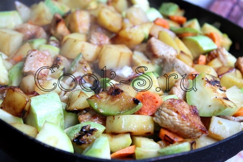 Бигус с мясом рецепт с фото