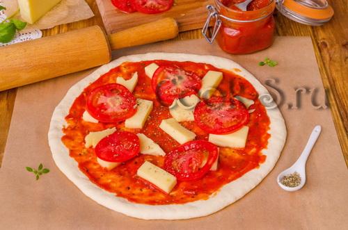 Рецепт пиццы маргарита в духовке в домашних условиях