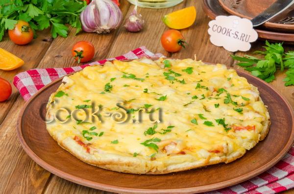 пицца в микроволновке за 10 минут пошаговый рецепт с фото