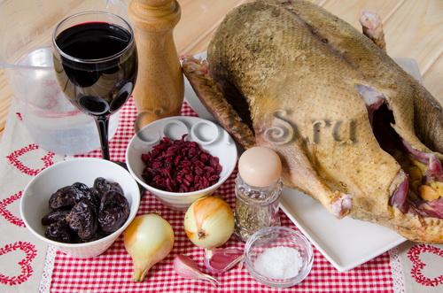 утка в вине - ингредиенты