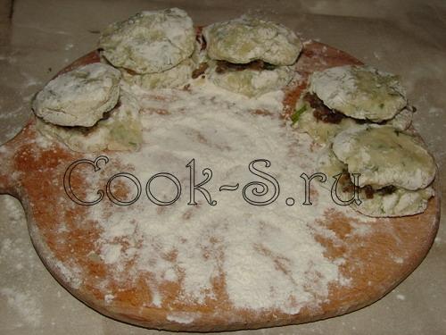 зразы картофельные с мясом пошаговый рецепт