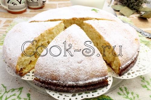 Бисквитный пирог рецепт в домашних условиях 902