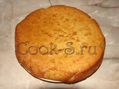 Бисквит на маргарине рецепт с фото