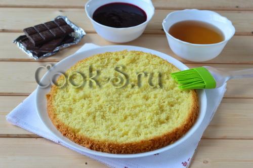 рецепт бисквитного торта в домашних условиях с фото пошагово