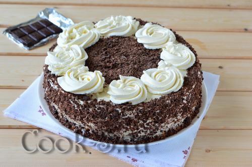 бисквитный торт очень вкусный и простой рецепт с фото