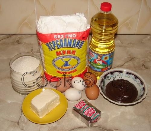 Булочки с шоколадом рецепт с фото