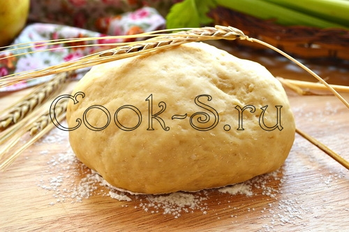 дрожжевое тесто для пирогов