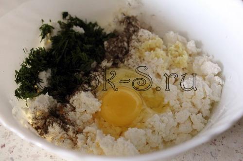 яйцо и зелень