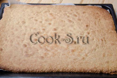 плотный бисквит для многоярусного торта рецепт