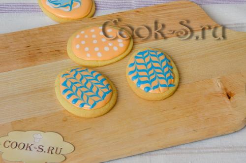 печенье с глазурью фото