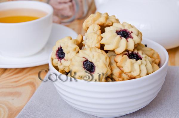 фото печенье курабье
