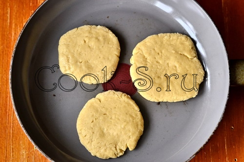 Печенье на сковороде пошагово с фото
