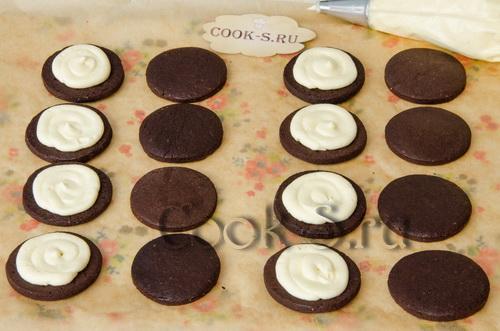 печенье орео рецепт с фото в домашних условиях