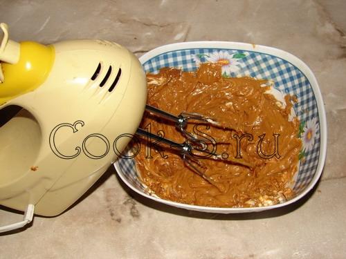 печенье орешки со сгущенкой - крем