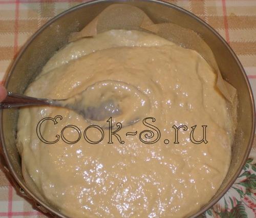 пирог медовый - форма для выпечки