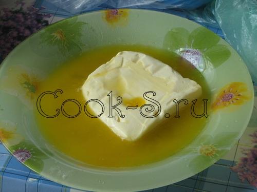 пирог с клубникой - маргарин