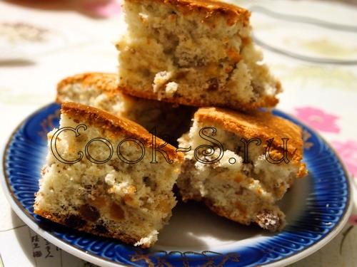 пирог восточный с орехами и изюмом пошаговый рецепт