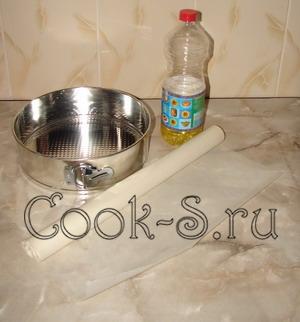 пирог с вишней - форма для выпечки