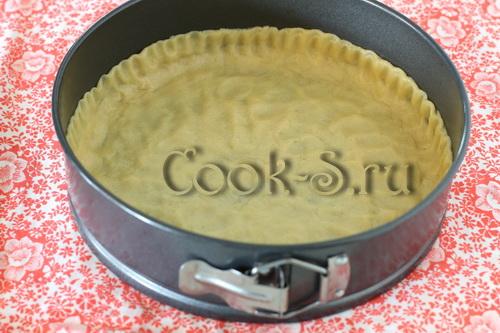 песочная основа для пирога