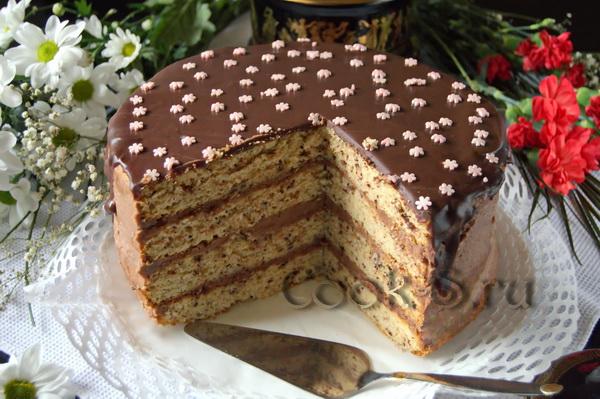 Праздничные торты своими руками рецепты с фото