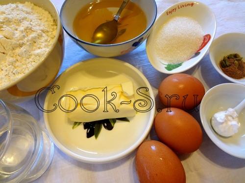 пряники домашние - ингредиенты