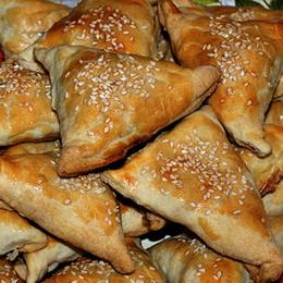 рецепт с фото самсы с курицей и картофелем