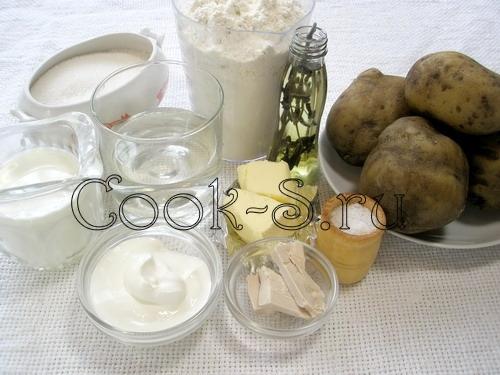 шаньги - ингредиенты