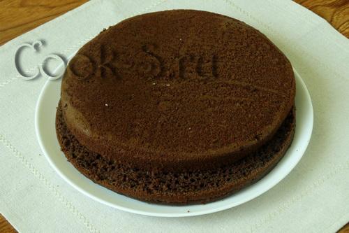 Коржи для шоколадного торта рецепт пошагово