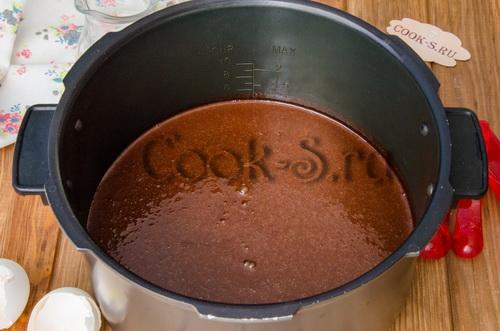 Для мультиварки рецепт бисквит на кипятке рецепт пошагово