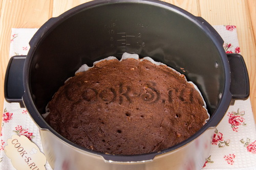Торт брауни для мультиварки