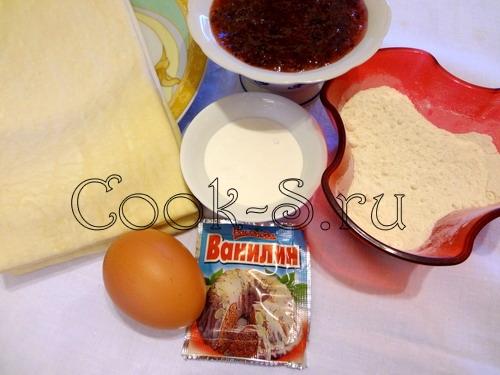 Пошаговый рецепт ватрушек с вареньем