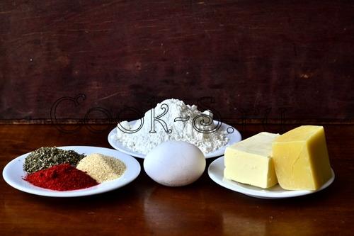 сырные палочки из теста - ингредиенты