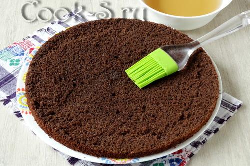 корж для торта чёрный лес