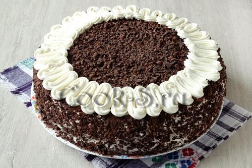 торт чёрный лес рецепт