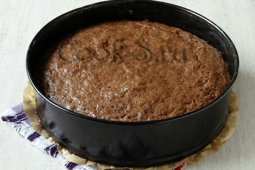 шоколадный бисквит для торта чёрный лес