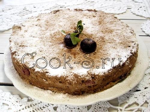 Торт черный принц со сгущенкой с пошаговым