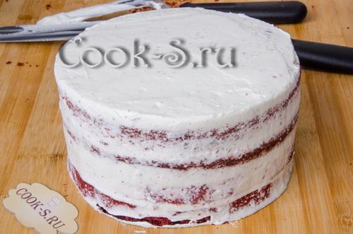 торт красный бархат в домашних условиях