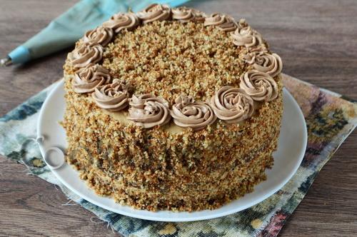 торт мужской идеал рецепт с фото