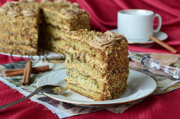 рецепт торта мужской идеал с фото