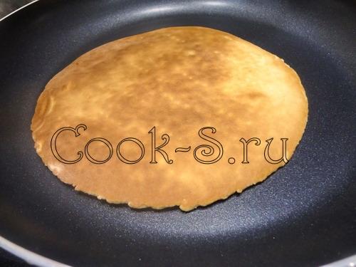 Тортик на сковороде пошаговое