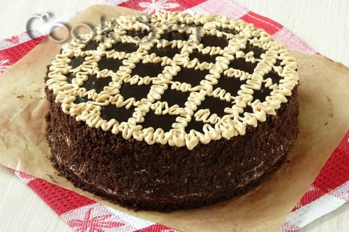 фото шоколадный торт пеле